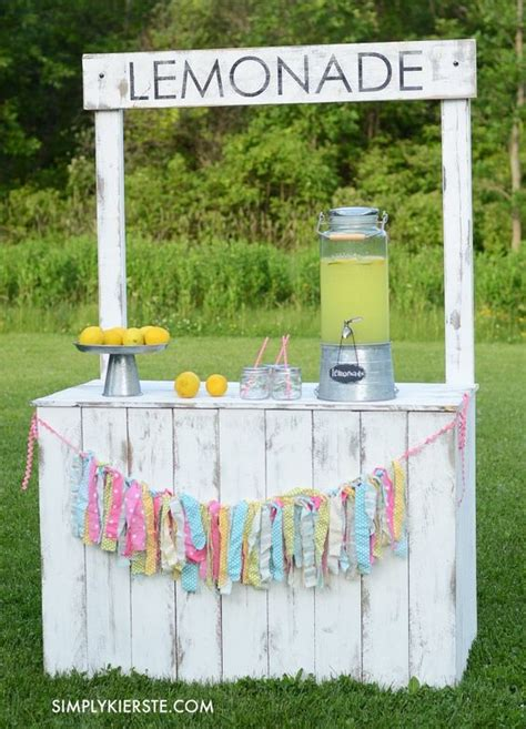 diy lemonade stand vintage lemonade stand with reversible chalkboard sign