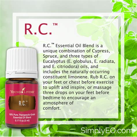 Living Rc Essential rc essential by living simply essential oils