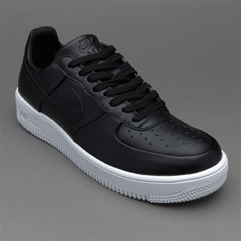 sepatu sneakers nike air 1 ultraforce leather black