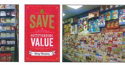 christmas comes early to the card factory shop in llanelli