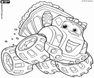 chuck and friends coloring book activity coloring pages