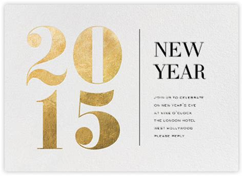 new year cards design 35 amazing new year cards to welcome 2015 printingdeals org