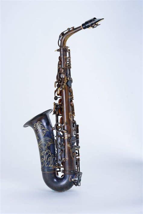 Chateau Saxophone chateau alto saxophone vas 500ve 2015 vintage finish reverb