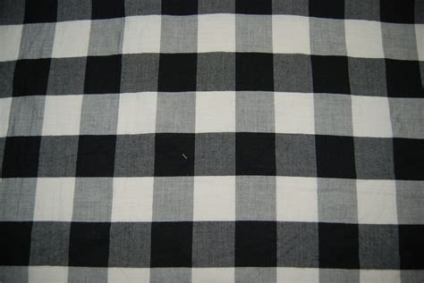 black and white check upholstery fabric black and white checker check italian gingham cotton