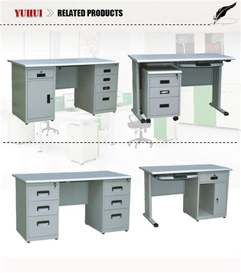 office desks with locking drawers light grey steel cpu storage locking drawers office