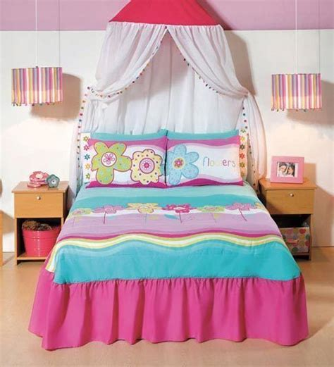 pink and aqua bedding new girls embroidered pink aqua flowers bedspread