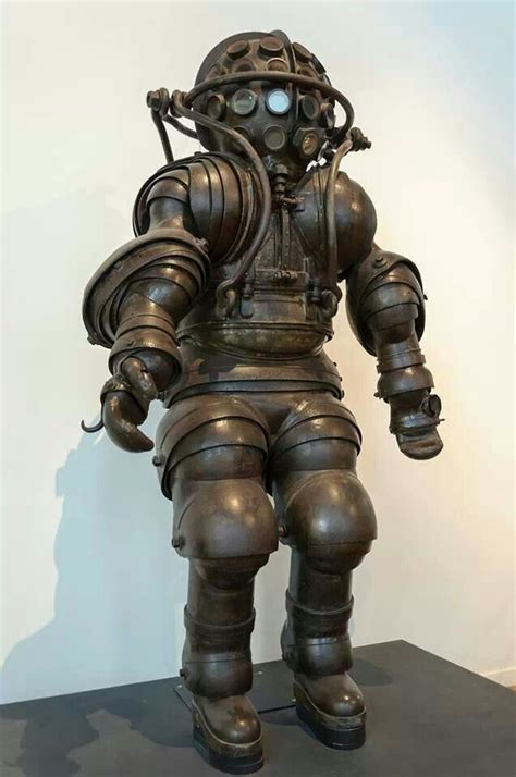 dive suit atmospheric diving suit 1882 odds and ends curiosities
