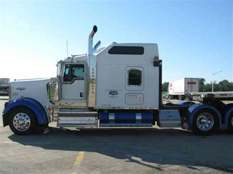 kenworth w900l kenworth w900l 2008 sleeper semi trucks