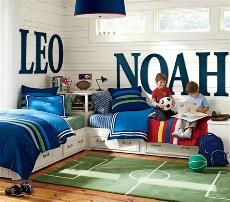 Boys Shared Bedroom Ideas | boys bedroom ideas via the design tabloid 9 the