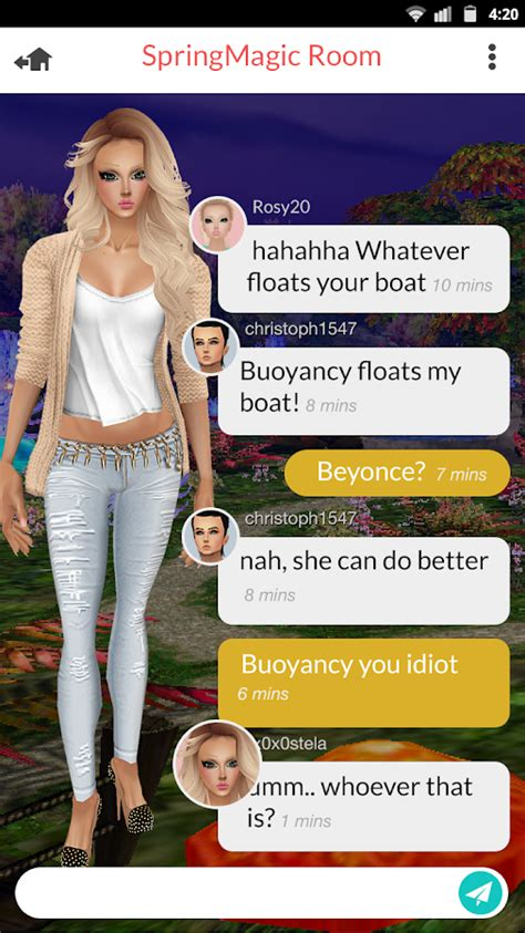 imvu credits mobile imvu mobile android apps on play