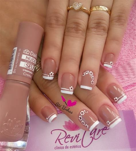 imagenes de uñas acrilicas frances u 241 as nude y frances blanco unhas pinterest u 241 as nude
