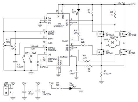 Motor Speed Controller Circuit Diagram