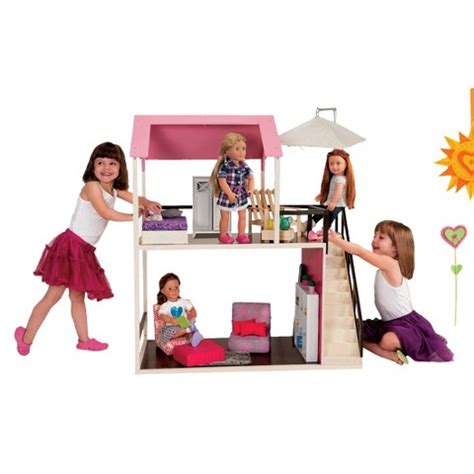 wooden dollhouse our generation target