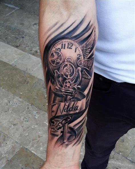 tattoo arm clock clock tattoos tattoo designs tattoo pictures page 15
