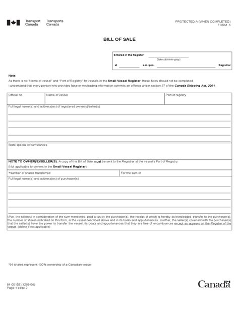 2017 boat bill of sale form fillable printable pdf forms