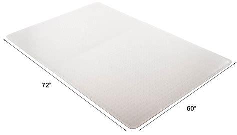 60 X 72 Chair Mat by High Pile Carpet 25 Quot Thick Chair Mats W Beveled Edges