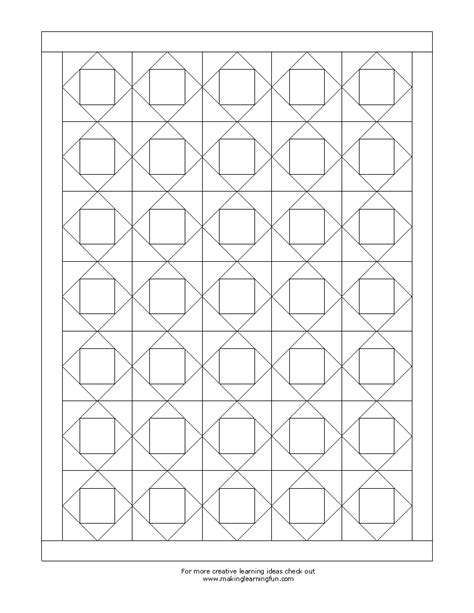 color pattern maker free coloring pages of a quilt