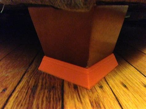 furniture riser by technophobe thingiverse