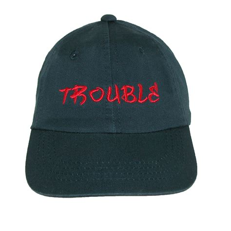 dorfman pacific boys embroidered trouble adjustable