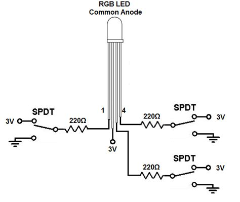 common cathode diode array common anode vs common cathode rgb led images