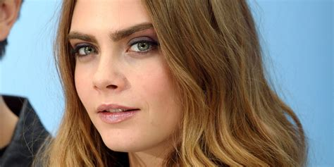 Cara Cara cara delevingne opens up about being in with