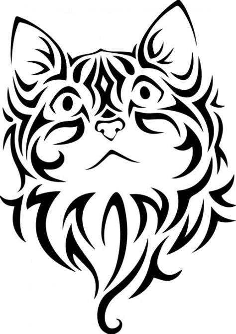 tattoo vector images tattoo cat vector image public domain vectors tattoo