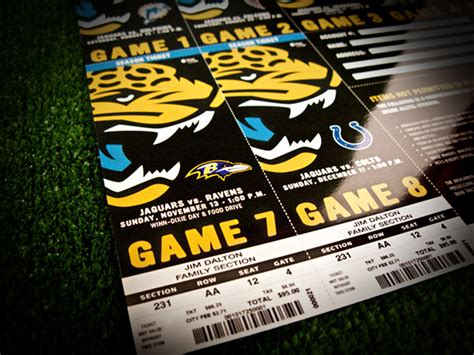season tickets jacksonville jaguars season tickets jacksonville jaguars on behance
