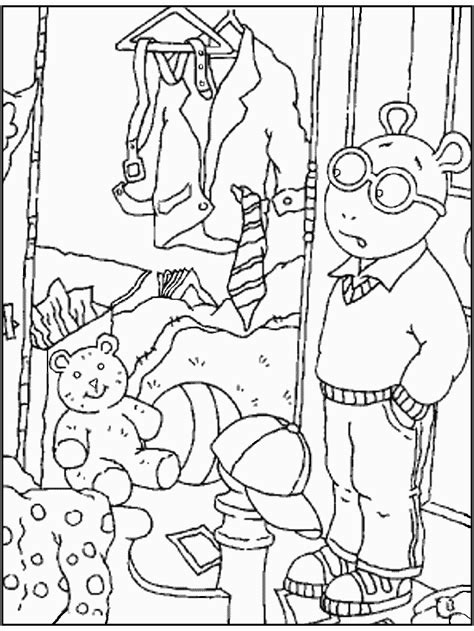 Arthur Coloring Page Az Coloring Pages Arthur Colouring Pages