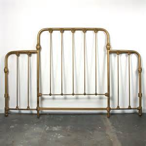 antique iron headboard king size solid cast iron bed frame