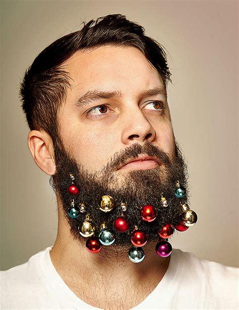 beard baubles will turn your beard into a christmas tree