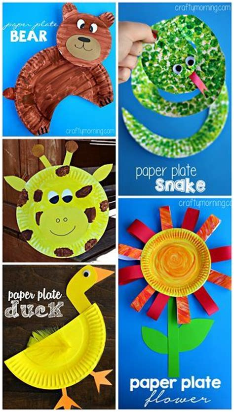 Creative Paper Crafts - creative for and plate on