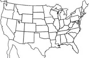blank states map dr