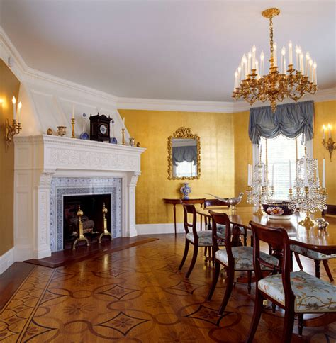 Colonial Dining Room by Colonial Revival Dining Room Traditional Dining Room