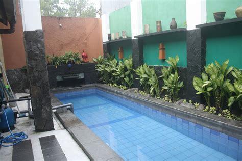 desain kolam renang  rumah nyaman rumah impian