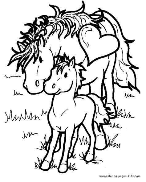 free printable coloring pony coloring page 24 in and a pony color page