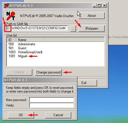 reset windows 7 password if forgotten seachtech how to recover or reset windows 7 forgotten
