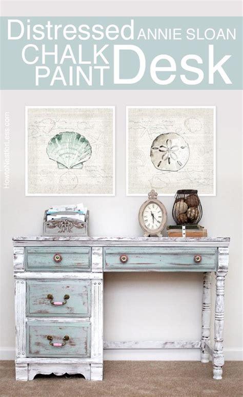 chalk paint distressing diy 25 best ideas about chalk paint desk on chalk