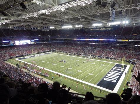 st louis ram stadium top 5 football stadiums in the state you live in secrant