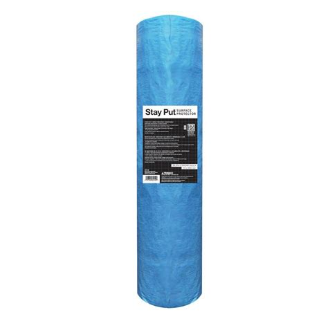 stay put 39 37 in x 164 04 ft surface protection 89150