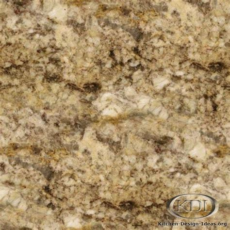 Kitchen Countertops Different Types - taupe gold granite kitchen countertop ideas