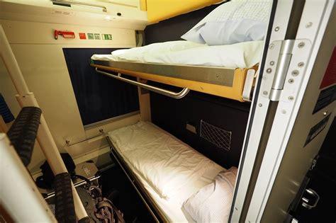 vagone letto intercity notte compartimento 3 letti