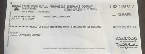 state farm bank phone number check cleared re 12 07 2009 paid january 3 2016
