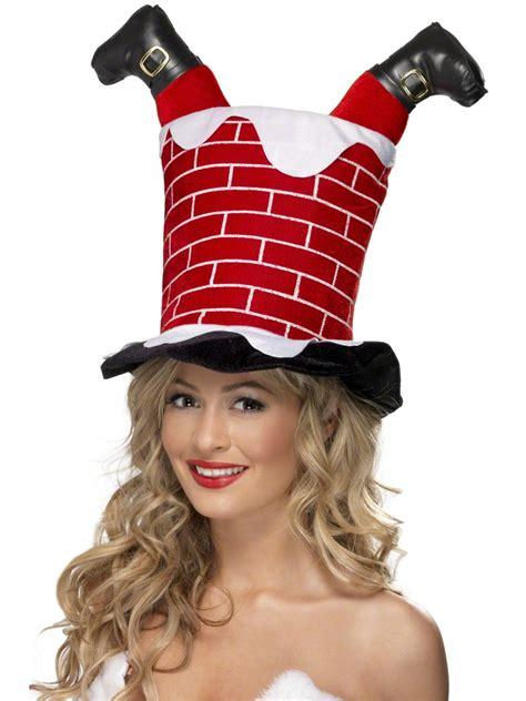 Chimney Hat With Santa - santa stuck in chimney hat 38335 fancy dress