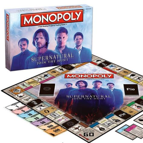 gifts for supernatural fans supernatural monopoly game gifts for supernatural fans