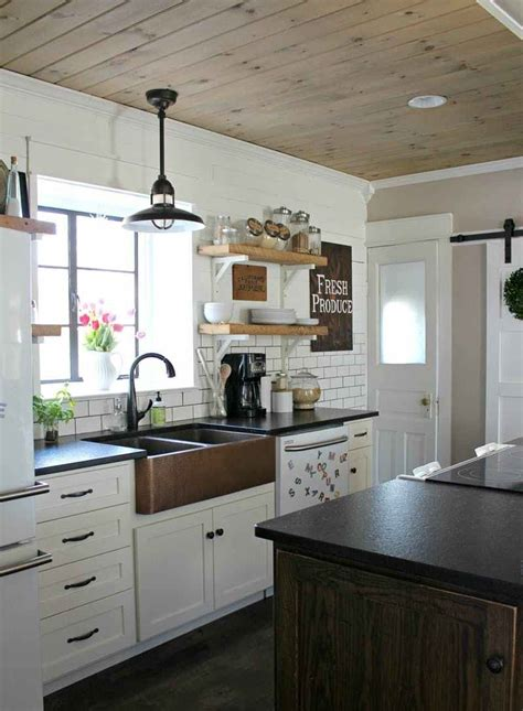 kitchen ceiling ideas pictures 2018 trending wood ceiling treatments beams planking
