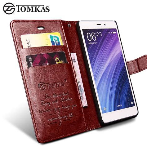 Wallet Xiaomi Redmi 4 Pro Leather Flip Cover Dompet Card Kulit tomkas xiaomi redmi 4 pro redmi 4 cover flip wallet