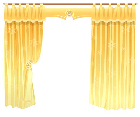 transparent window curtains yellow curtains transparent png clipart gallery