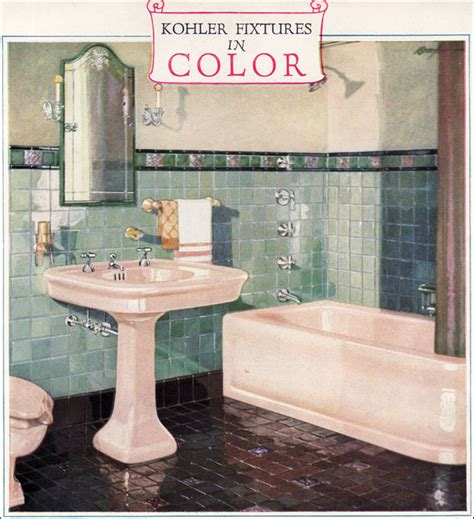 1920s bathroom fixtures 1928 kohler bathroom plumbing fixtures ivory green
