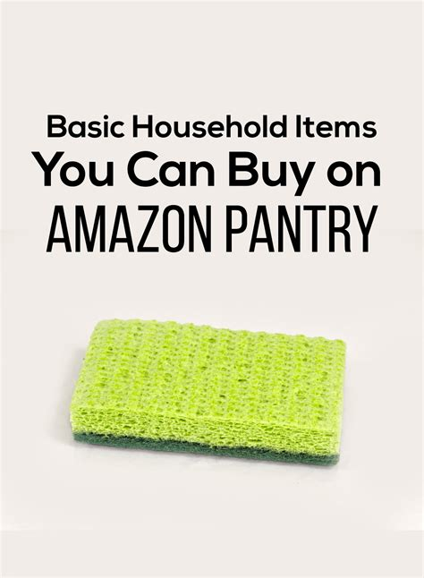 How To Purchase Items On Amazon With A Gift Card - basic household items you can buy on amazon pantry