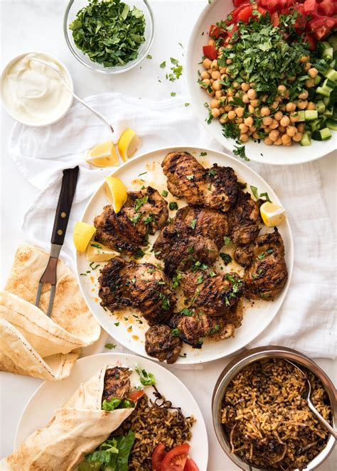 Eastern Ingredients by Chicken Shawarma Middle Eastern Recipetin Eats